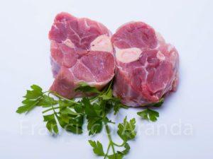 Hueso de garrón de cerdo