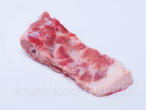 Hueso de corbet de cerdo