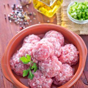 Albóndigas/ carne picada